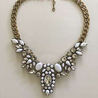 Bella Stone Statement Necklace / Statement / Pendant / Bold and Beautiful / Crystal Necklace /