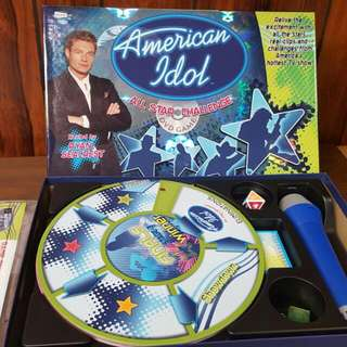 American Idol Board Game