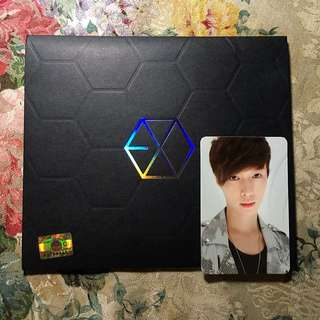 MAMA (EXO M Version) + Lay Photocard