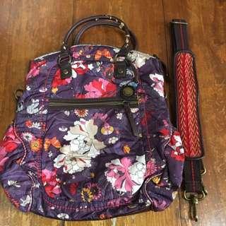 Sakroots purple messenger bag