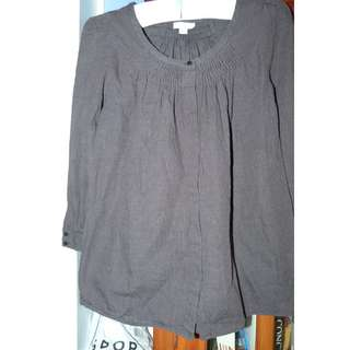 Witchery Small cotton wool blend top euc
