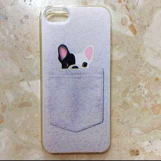 Cute Japanese Puppy iPhone 5 Case For Girls Ladies Women