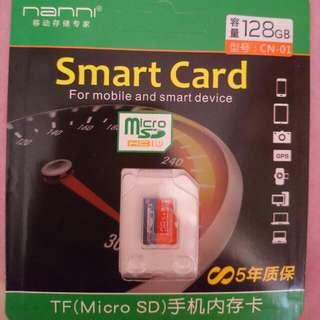 Micro Sd Card 128GB Class 10