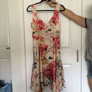 JAG Silk Floral Dress