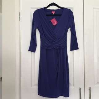 Smart Casual Rouged Dress
