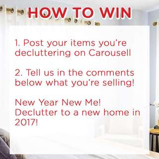 -CLOSED- WIN $20 ASOS Gift Card! Declutter with Carousell NOW!