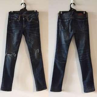 Funny powder jeans - Size XS