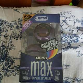 X-Mini Max Capsule Speakers (INSTOCKS)