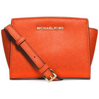 Michael Kors mini Selma handbag (Orange) BRAND NEW