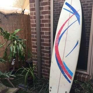 "MINI MAL Surfboard 7'2"""