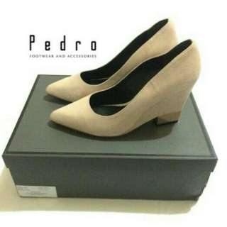 Pedro Woman Nude Leather Shoes