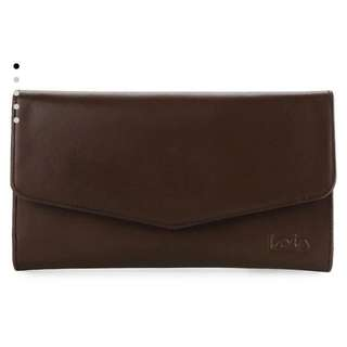 REPRICE!! PRELOVED Lois Jeans Leather Wallet