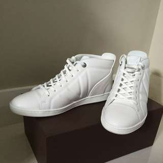 LOUIS VUITTON WHITE FUSLAGE HIGH TOP