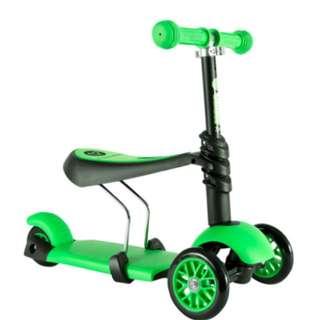 Slightly Used Y-Volution YGlider 3in1 (green)