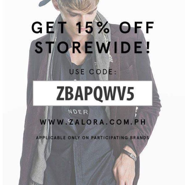 15% Off Discount Zalora Coupon