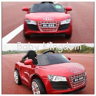 R8 Audi Electric Car For Kid/ Children/ Toddler/ Baby (Birthday Present, Gift, Tricycle, Bicycle, Motorcar, GPS, Toy, Home, Activity, Game, Phone, Garden)