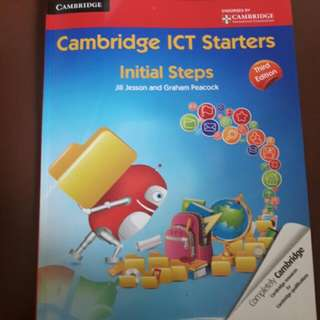 Cambridge ICT Starters Initial Steps Year 1 and 2