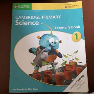 Cambridge Primary Science Year 1
