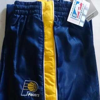 🚚 全新正版NBA 印地安納溜馬隊 全開扣籃球長褲