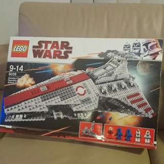 Star Wars Lego 8039 Venator-Class Republic Attack Cruiser