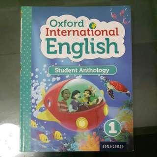 Oxford International : Student Anthology