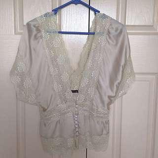 Silk Blouse Size 12