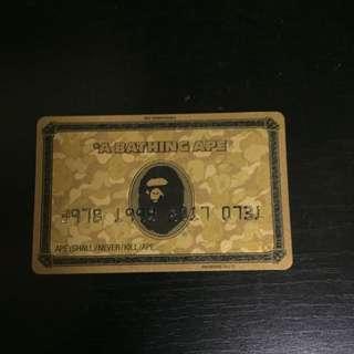 Bape Membership Card (jp Only)