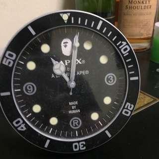 Bape Desk Clock