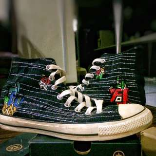 Free Delivery High Cut Converse