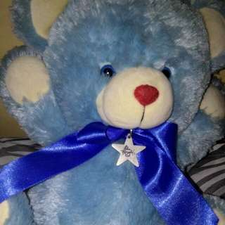 Repriced Well-loved Blue Magic stuffed toy