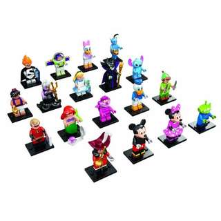 71012: LEGO Minifigures - The Disney Series - Complete