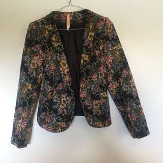 Floral Carpet Style Blazer