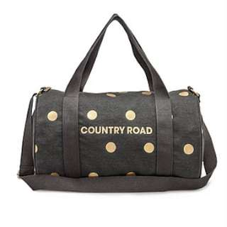 Country Road Metallic Spot Overnighter