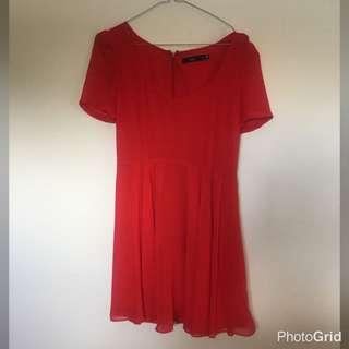 Sportsgirl Red Dress