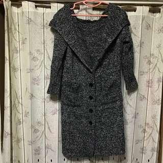 女針織長外套