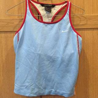 Old School Nike 'Nikesphere' Cropped Singlet Size Medium
