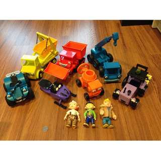 Bob the Builder Vehicles & Figure Set