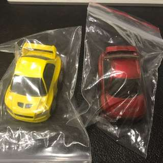 Used: Tomy Bit-CharG cars (assorted)