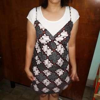 Batik Varsity Dress