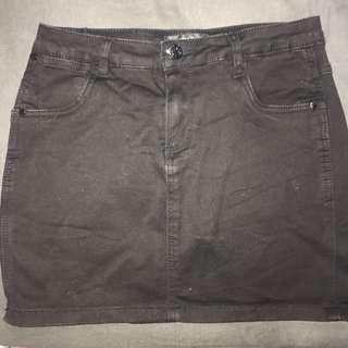 black country denim skirt