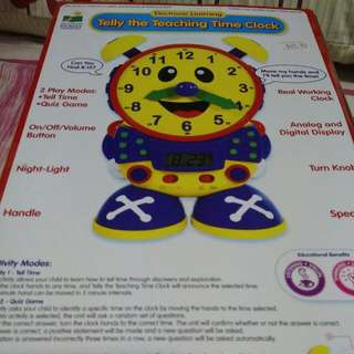 PL Telly the Teaching Time Clock