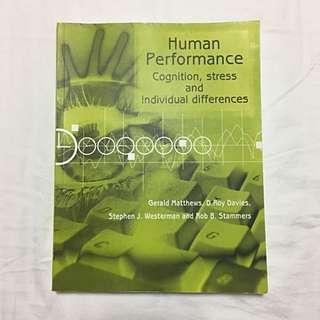PL3250 Human Performance Textbook