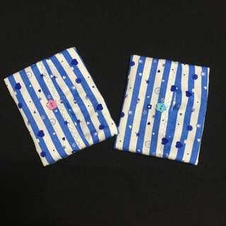 Handmade Stripes Printed Tissue Cover