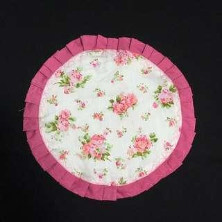 Handmade Dark Pink Floral Placemats