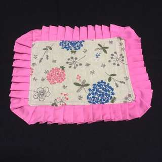 Handmade Pink Floral Placemats