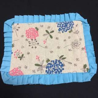 Handmade Blue Floral Placemats