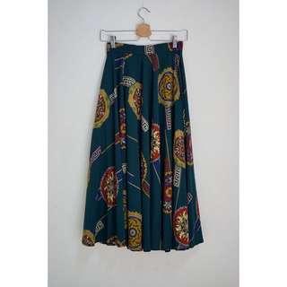 古著 法國製 圓裙