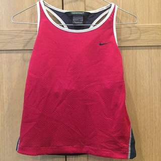 "Old School Nike ""Nikesphere"" Cropped Singlet (Medium)"