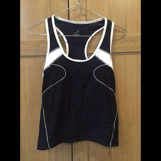 Nike Medium DriFit Singlet Black And White