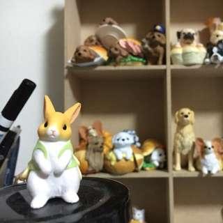 兔子 扭蛋 玩具 交換